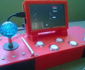 An Unconventional 3D Printed Retropie Arcade - Part 2 of 2