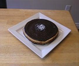 Gluten Free Nanaimo Cheesecake