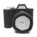 A DSLR Camera Made From 6367pcs 5mm Magnetic Balls
