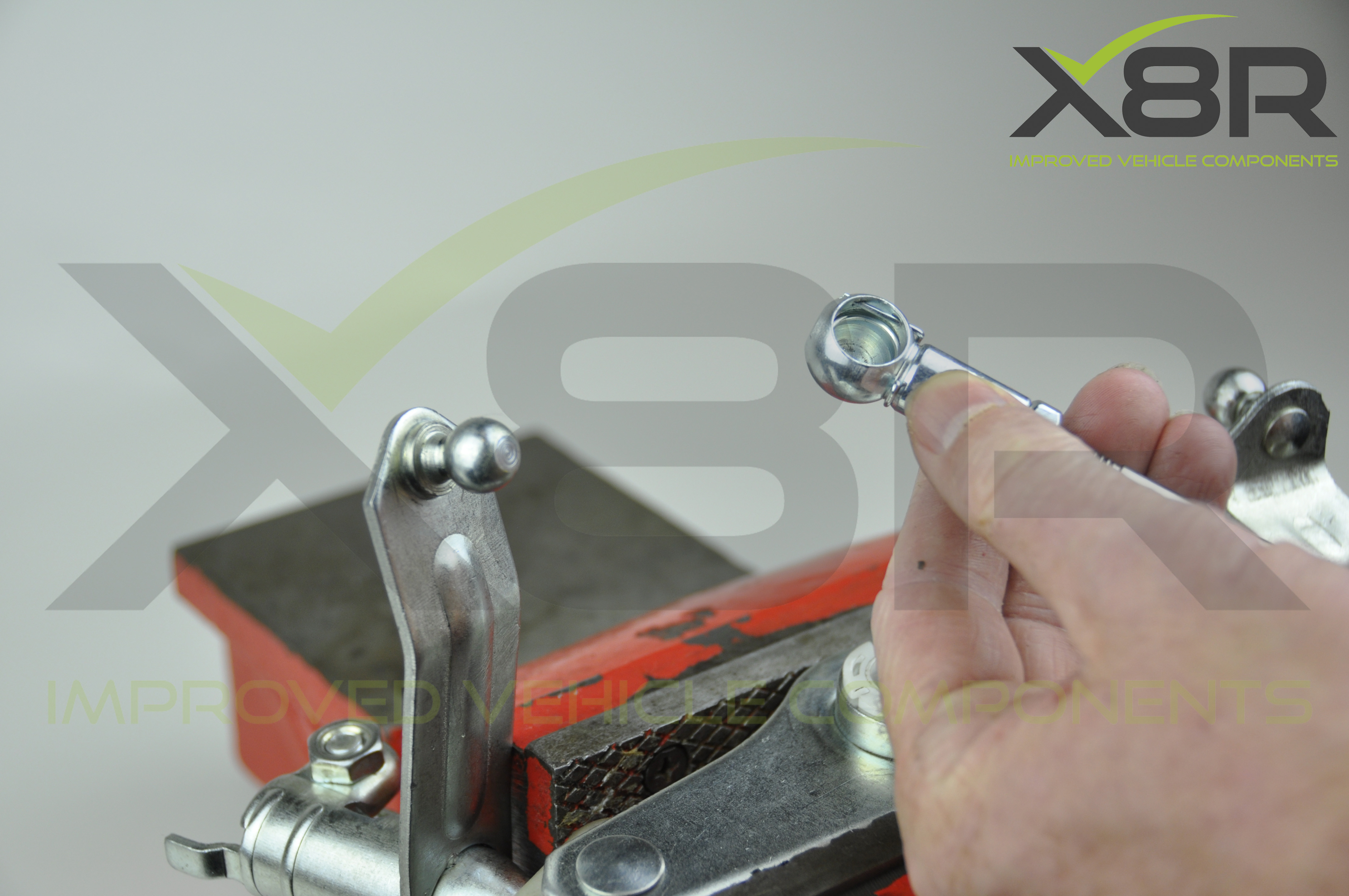 Picture of Remove Locking Pins From Our Linkage Rod