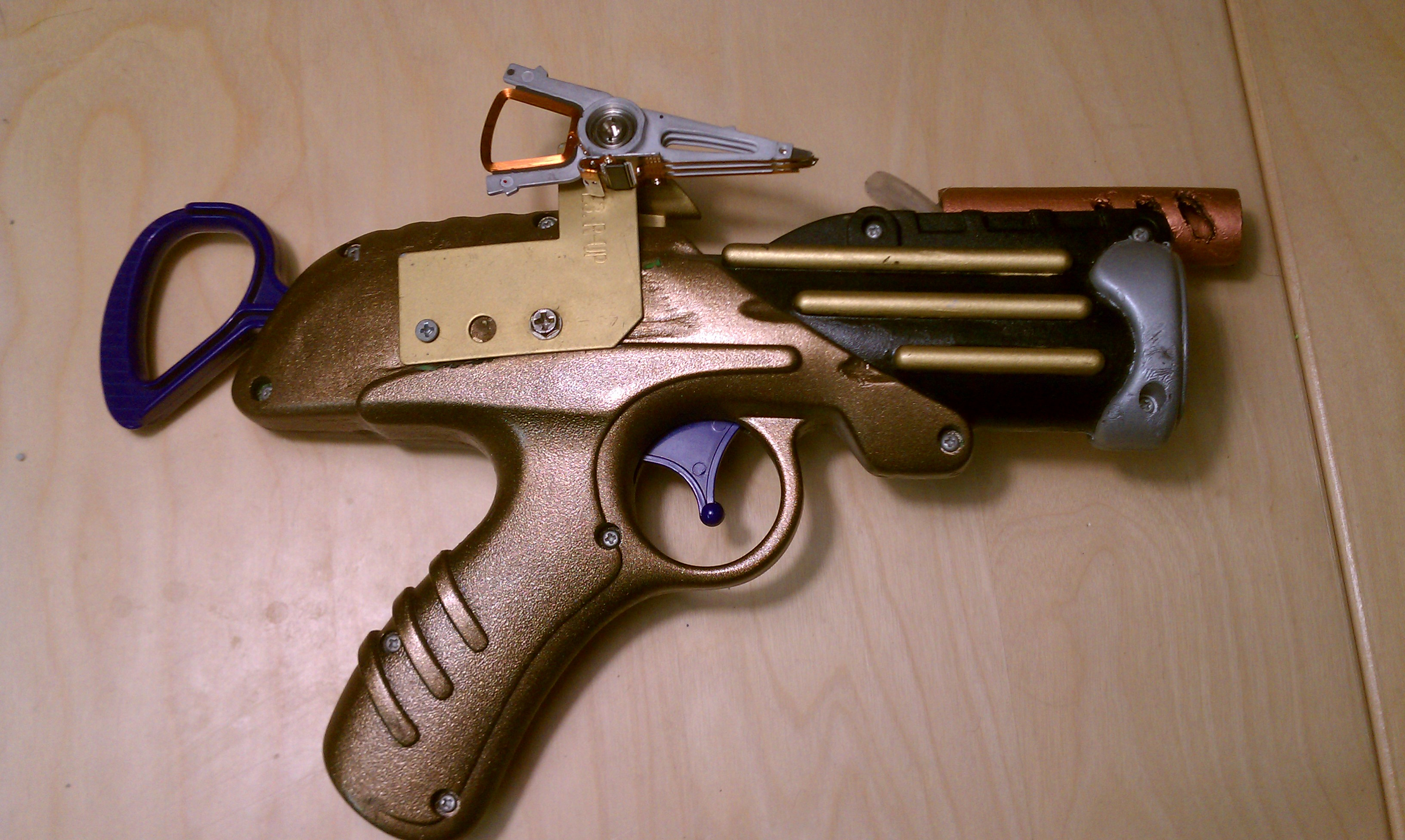 Picture of Steampunk Nerf Guns
