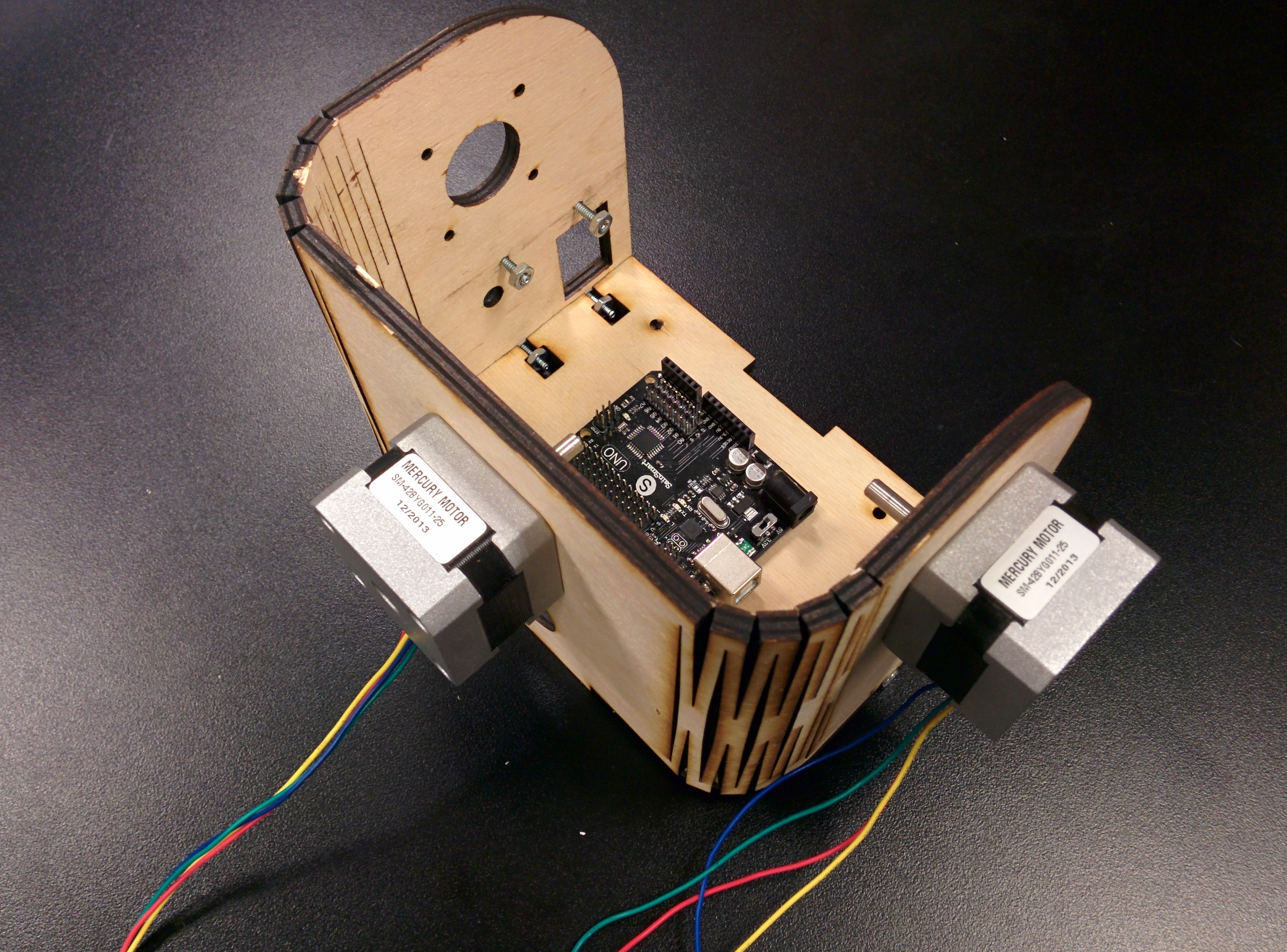 Picture of Motors and Switch