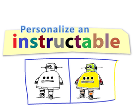Personalize an Instructable ... Add HTML Code