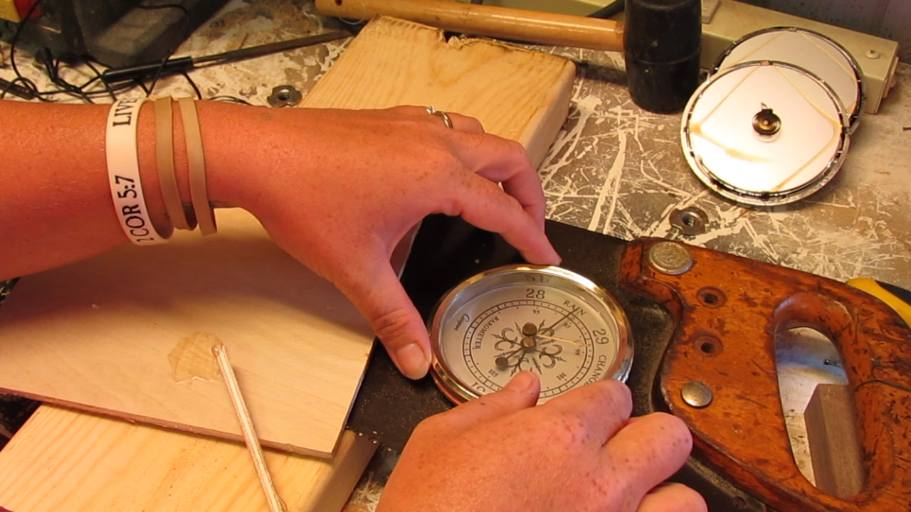 Picture of Inserting and Securing the Gauges