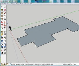 Building your first house in sketch up