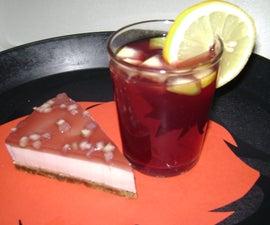 Sangria Cheesecake