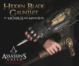 AC:Syndicate hidden blade Guantlet Replica!!