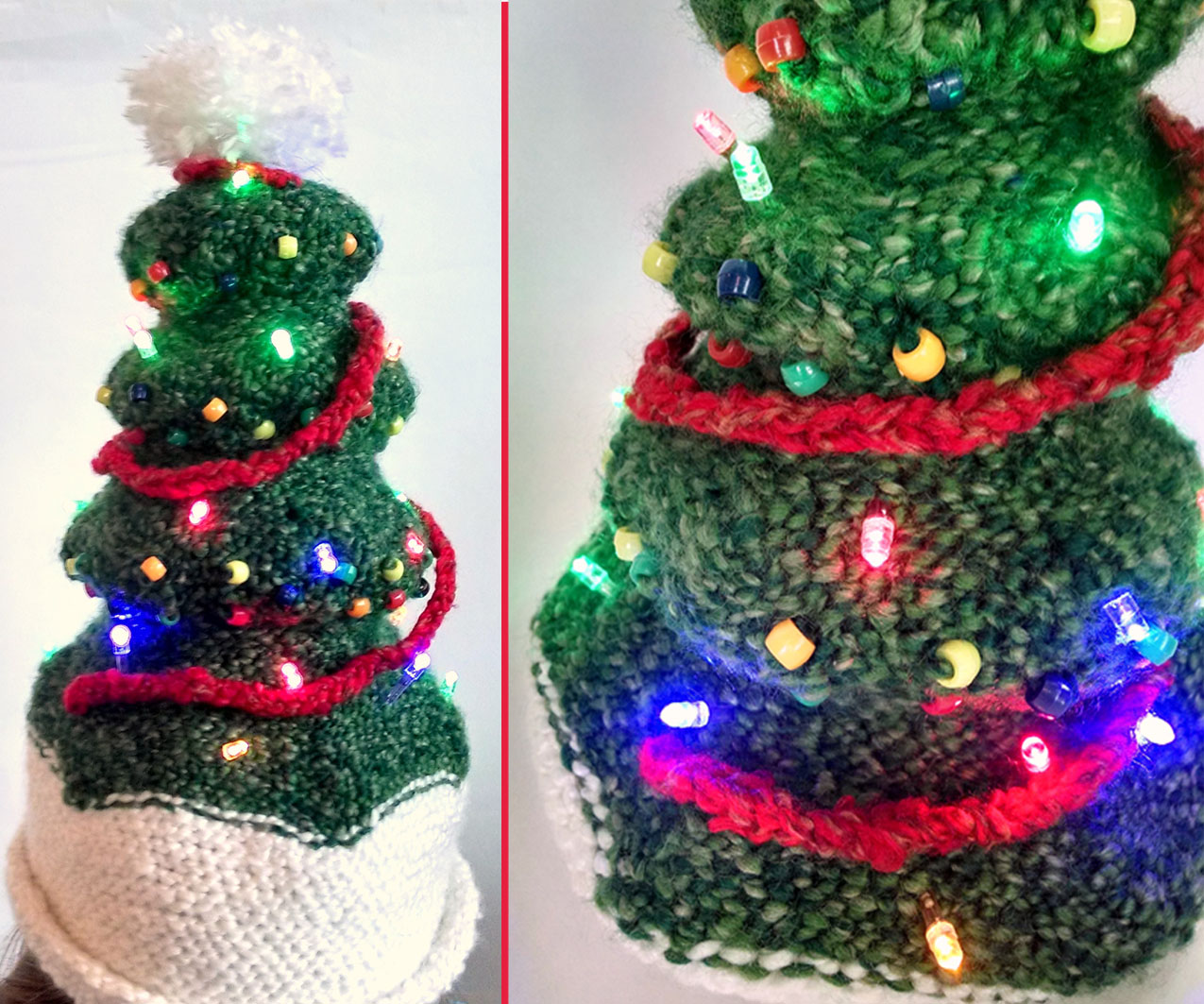 Picture of Light-Up Christmas Tree Hat