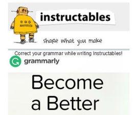 INSTANT Instructables grammar correction
