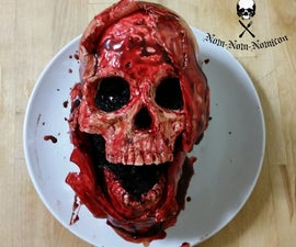 Death by Chocolate Autopsy Cake - REMOVED TEMPORARILY