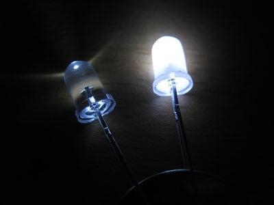 Diffusing a LED