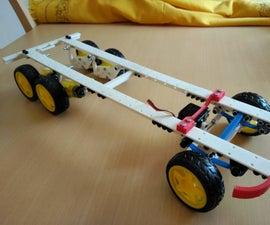 Robot Monka 6x4 Chassis