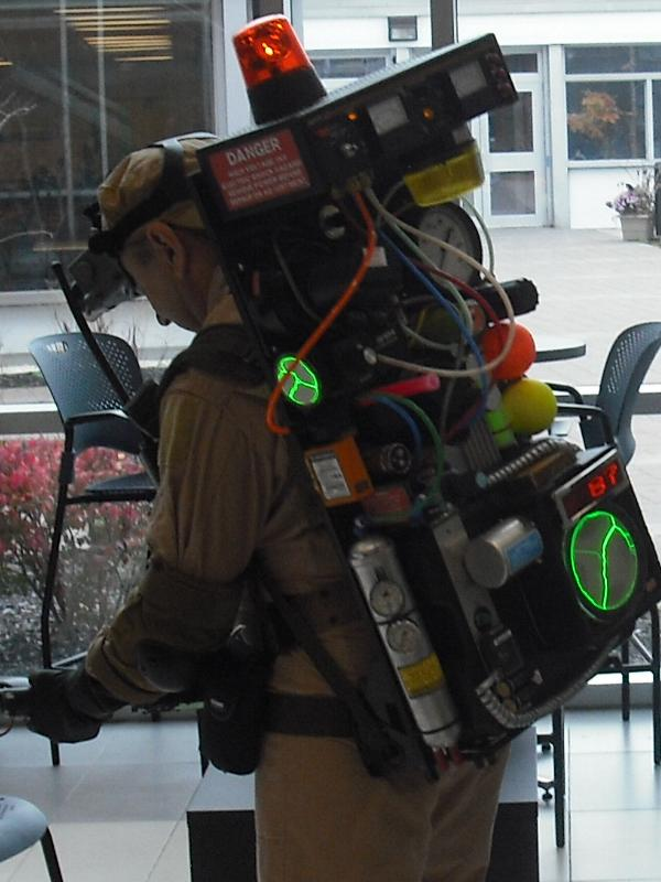 Picture of Ghostbusters Proton Pack With Lighting