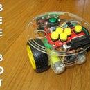 Arduino & MPU-6050 IMU controlled Bee Bot / Big Trak clone