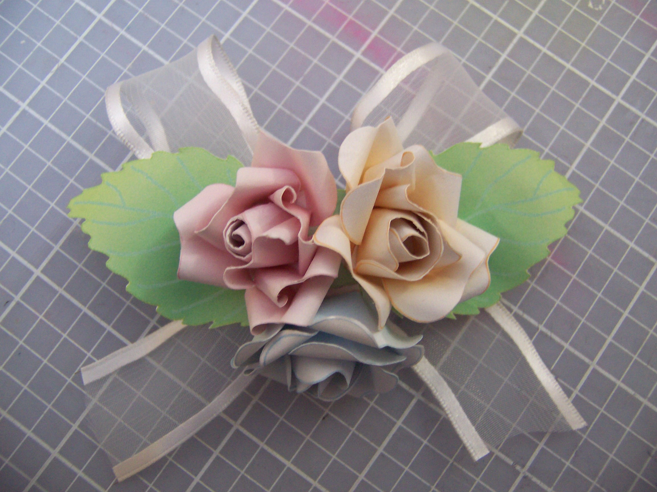 Picture of How to Make a Paper Corsage