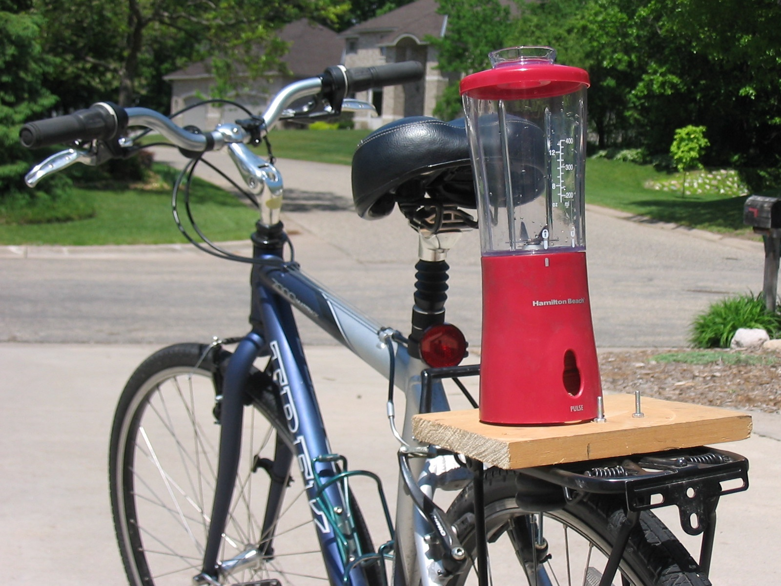 Picture of How to Create a Smoothie Making Human Powered Bike Blender for Less Than $25