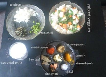 Biryani With Coconut Milk