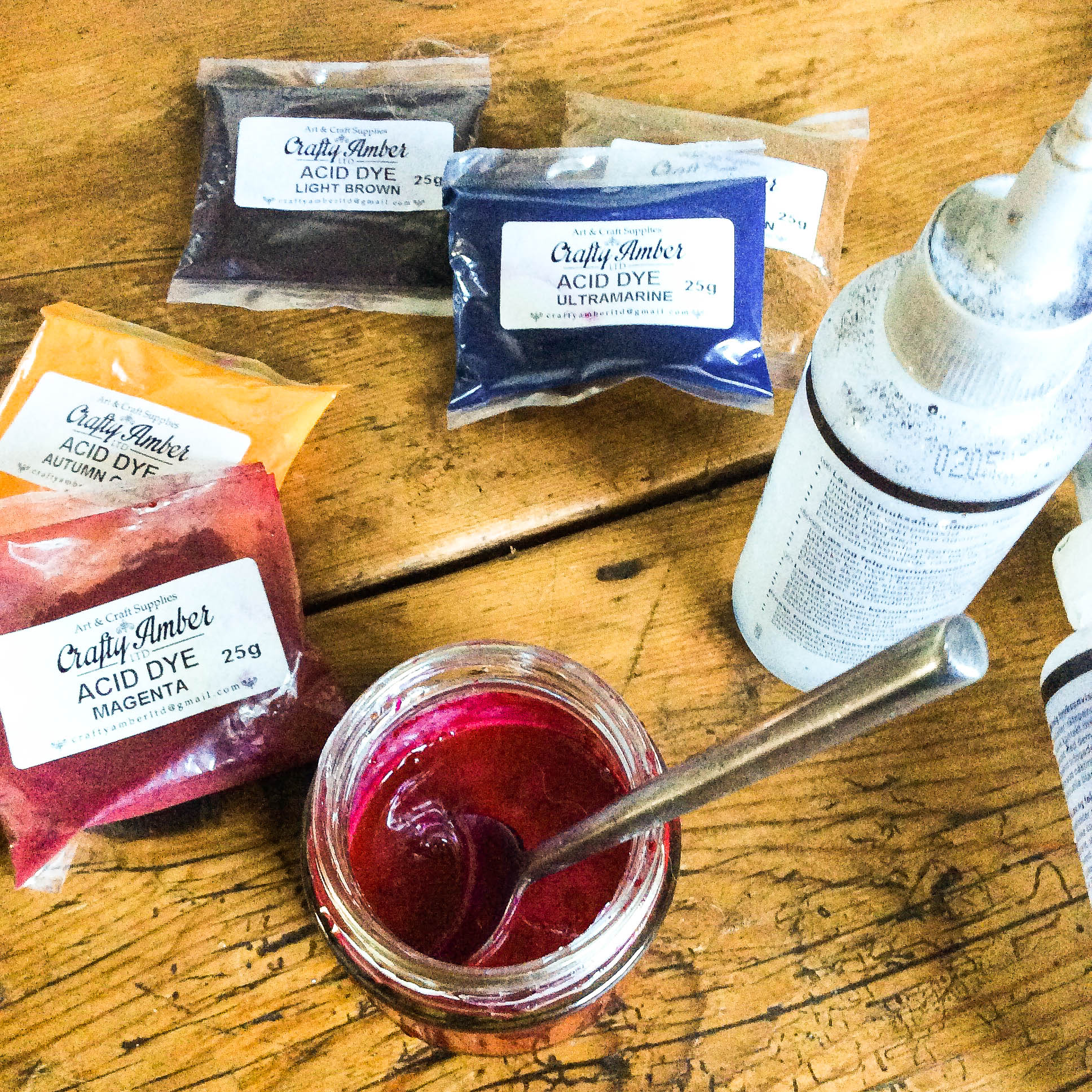 Picture of Preparing the Dyes