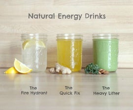 Homemade Energy Drink