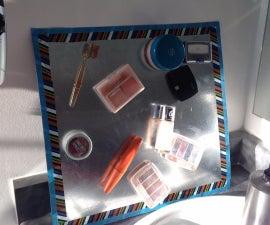 Magnetic Make-Up Organizer