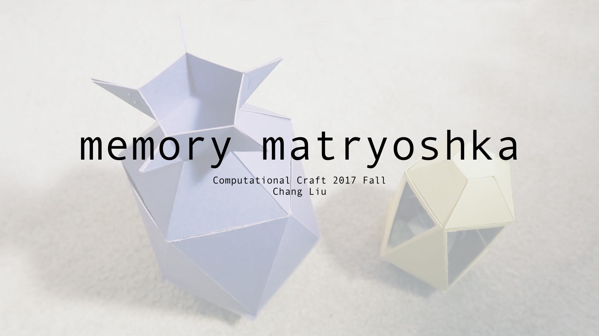 Picture of Memory Matryoshka