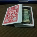 Turn a deck of cards into a diversion safe