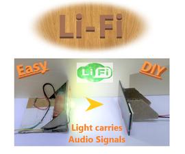 LiFi Experiment (Audio Transmission Through Light)