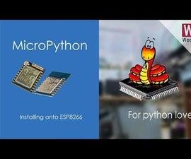 Flash MicroPython Firmware to ESP8266