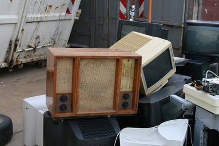 Find a Cheap, Not Working Radio!