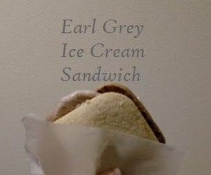 Earl Grey Ice Cream Sandwich