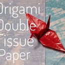 Origami Double Tissue Paper