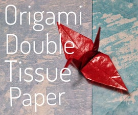 Origami Double Tissue Paper