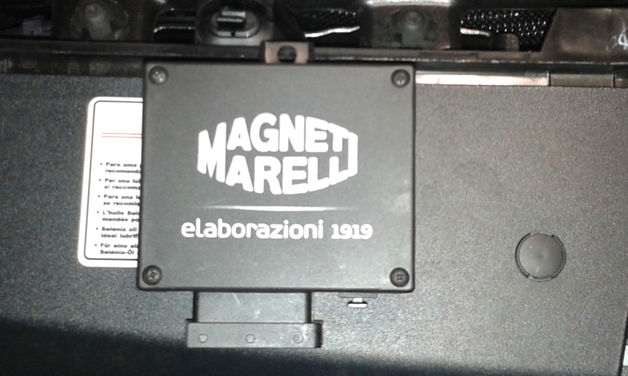 Picture of Installation Guide for Magneti Marelli Module on Fiat Freemont 170 CV AWD