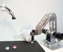 A Multi-controlled High Precision Desktop Robotic Arm