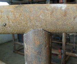 Making perfect pipe Saddle cuts with a bandsaw or chopsaw