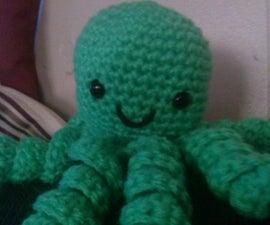Super Cute Crochet Octopus