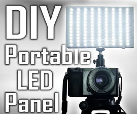 5$ Small Battery Powered LED Panel