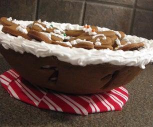 Gingerbread Cookie Bowl