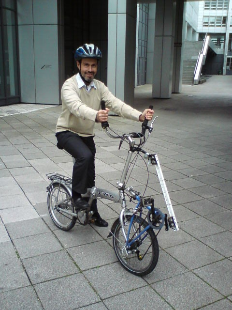 "Row Pull-push-bike ""la Marianette"""