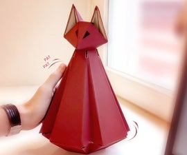 Crimson Fox: Raising Awareness to Take a Break While Working