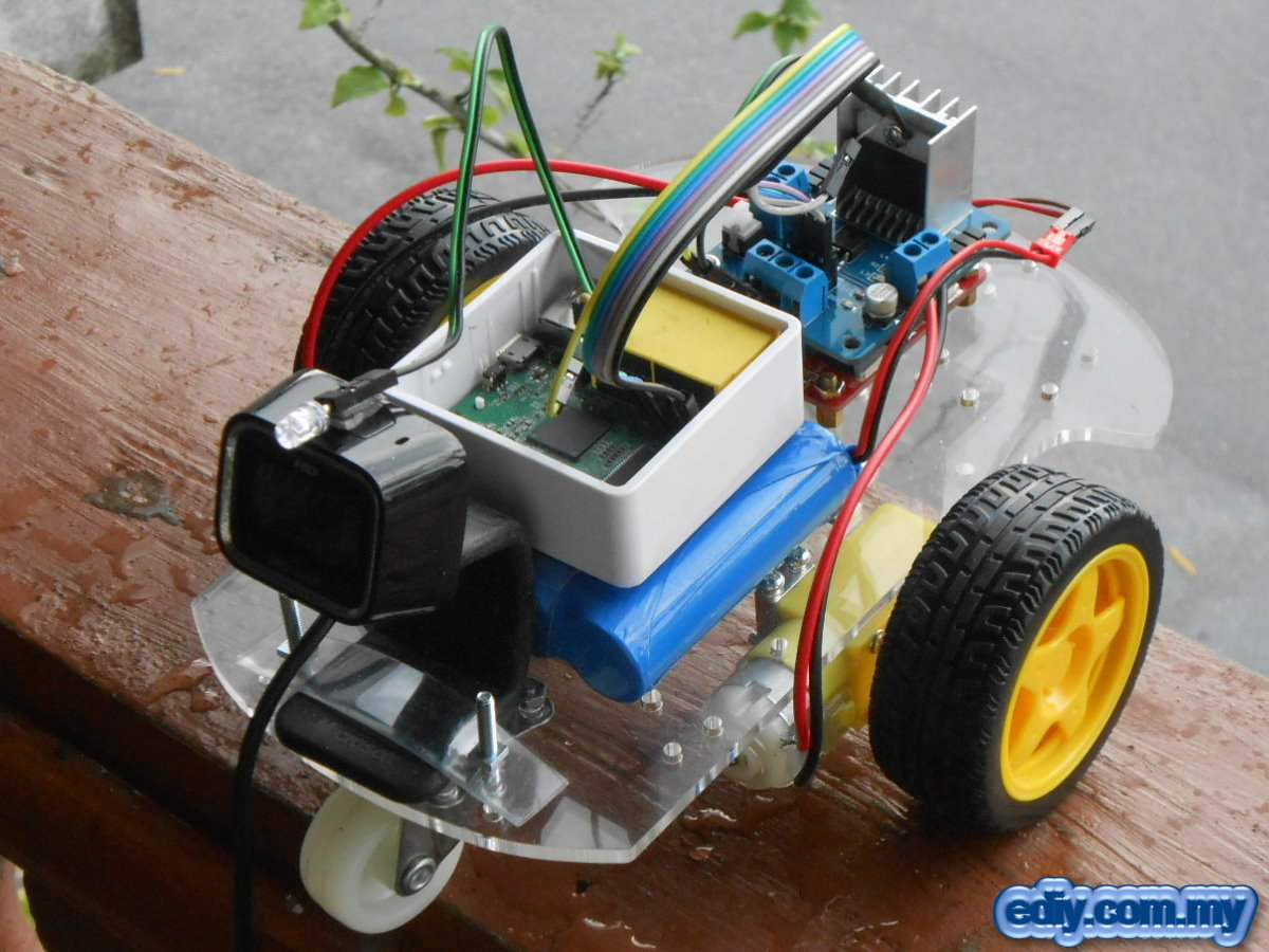 Picture of Wi-Fi Controlled Remote Control Car Without Microcontroller