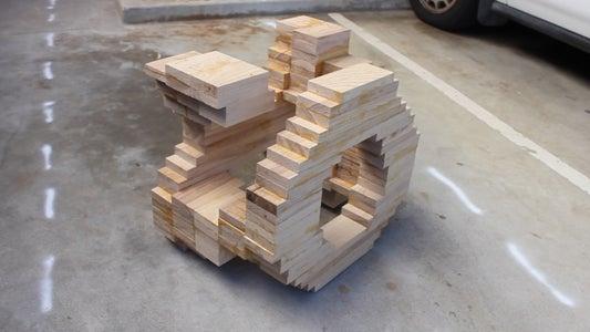 Glue Up Round 2 (through 5) - Stack-Laminate!