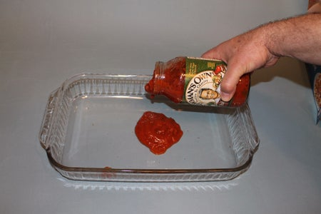 Lay Down a Bed of Pasta Sauce
