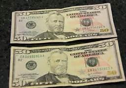 Picture of Mini 50 Dollar Bill