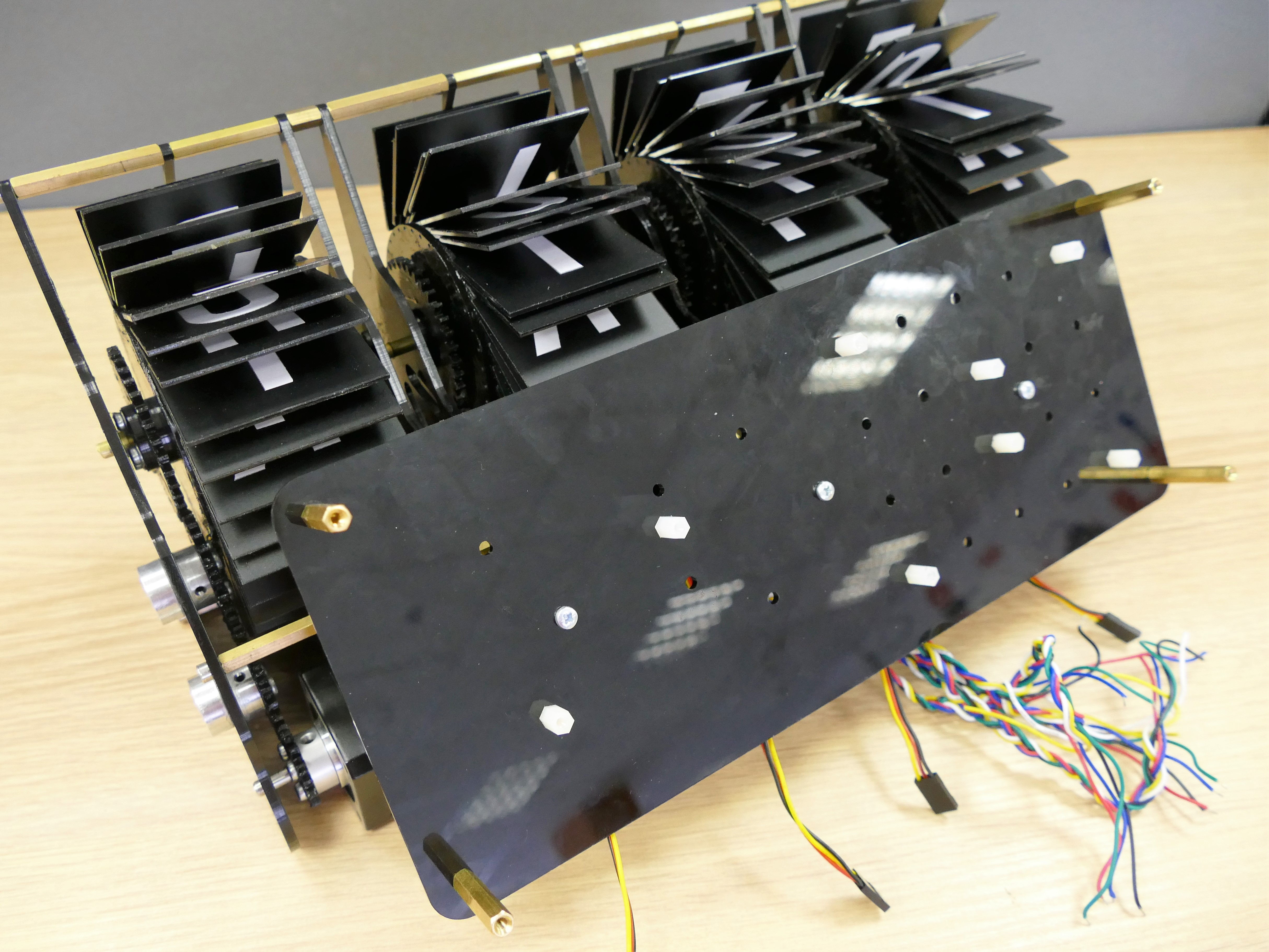 Picture of Electronics. Assembling the Panel for Electronics.