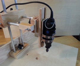 Ultimate AIO, Totally Over-Engineered, Dremel/Rotary Tool Drill Press / Sander / Grinder / Router