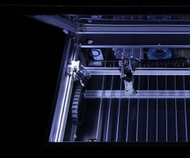 World's largest self-assembly (DIY) style CO2 laser cutter and engraver