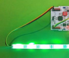 RGB LED Adaptive Camouflage (chameleon) Using Ebot / Arduino