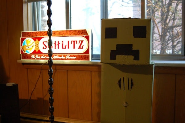 """Motion Activated """"Attack Creeper"""""""