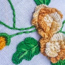Hand Embroidery Flower